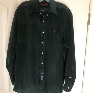 Ralph Lauren corduroy button down.